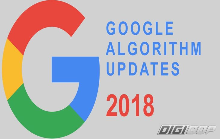 Google's Algorithm Update 2018